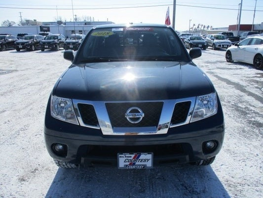 2016 Nissan Frontier Sv In Davenport Ia Courtesy Ford Trucks